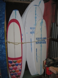 Six boards just fit