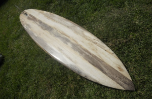 An agave single fin by California's Barry Snyder, a true master of the craft